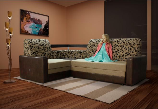 Угловой диван Виолетта